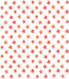 Seamless watercolor stars pattern Stock Images