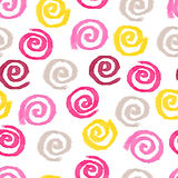 Seamless watercolor swirls background Royalty Free Stock Image
