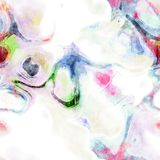 Seamless Watercolor Texture Royalty Free Stock Images