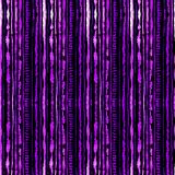 Seamless watercolour shibori tie-dye pattern of lilac color on black silk. Hand painting fabrics - nodular batik. Shibori dyeing for fabric, textile, ceramic stock illustration
