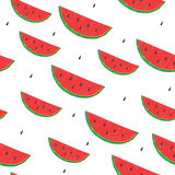 Seamless watermelon background Stock Image