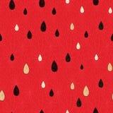 Seamless watermelon pattern Stock Photography