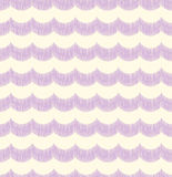 Seamless wave curve pattern Royalty Free Stock Images
