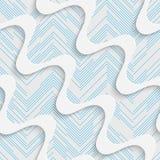 Seamless Wave Design. Futuristic Tile Pattern Stock Image
