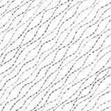 seamless wave för modell Arkivbild