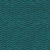 Seamless wave hand drawn pattern. Abstract vintage Royalty Free Stock Photos
