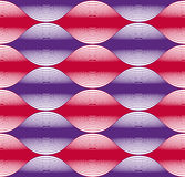 Seamless wave lines pattern, abstract geometric background, vect Stock Photos
