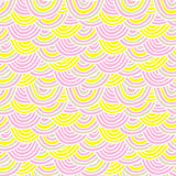 Seamless Wave pattern Royalty Free Stock Photos