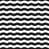 Seamless wave pattern. Royalty Free Stock Image