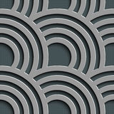 Seamless Wave Pattern Royalty Free Stock Photography