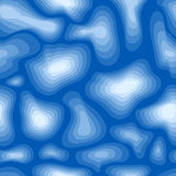 Seamless wave pattern Stock Image