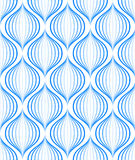 Seamless wave pattern Stock Photo