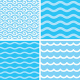 Seamless wave patterns