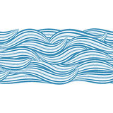 Seamless wave Royalty Free Stock Image