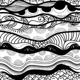 Seamless waves vector illustration