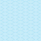 Seamless waves abstract pattern Stock Photo