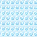 seamless waves background Stock Image