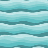 Seamless waves background Stock Photography