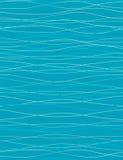 seamless waves för modell Arkivbild