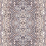 Seamless waves hand-drawn pattern Stock Images