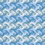 Seamless waves Japanese. Seamless waves in the Japanese style. Copyspace Royalty Free Stock Images