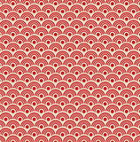 Seamless waves pattern Royalty Free Stock Photography