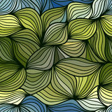 Seamless waves pattern Stock Photography