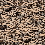 Seamless waves texture,wavy background.Copy that square to the s Stock Images