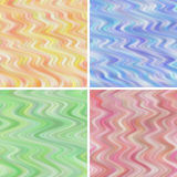 Seamless Wavy Backgrounds Royalty Free Stock Images