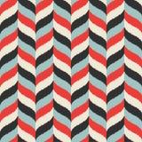 Seamless wavy braid textured fabric Royalty Free Stock Photography