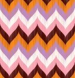 Seamless wavy braid textured fabric Royalty Free Stock Photo