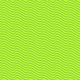 Seamless wavy line pattern Royalty Free Stock Photos