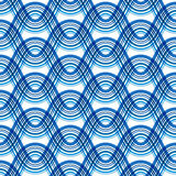 Seamless wavy pattern. Abstract seamless wavy pattern on white Stock Images