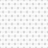 Seamless wavy pattern with dots. Stock Image