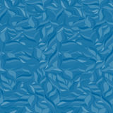 Seamless wavy pattern. Monochrome background. Blue colors. Royalty Free Stock Images