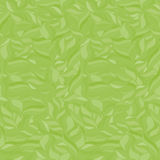 Seamless wavy pattern. Monochrome background. Grass green colors Royalty Free Stock Image