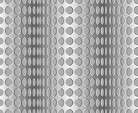 Seamless wavy pattern. Optical illusion with motion background royalty free illustration