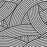 Seamless wavy pattern. Vector Illustration Royalty Free Stock Photography