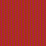 Seamless wavy stripes and diamond pattern red ocher brown violet Royalty Free Stock Image