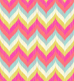 Seamless wavy zigzag background pattern Stock Photos