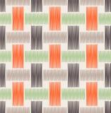 Seamless weave mesh pattern Stock Photos