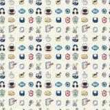 Seamless web pattern Royalty Free Stock Image
