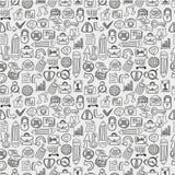Seamless web pattern Stock Image