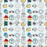 Seamless web pattern Stock Photography