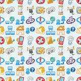 Seamless web pattern Stock Photos