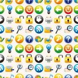 Seamless web pattern Stock Photography