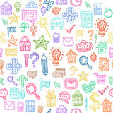 Seamless web pattern Royalty Free Stock Photo