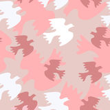 Seamless wedding pattern with sweethearts Royalty Free Stock Photo