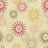 Seamless Wheat Pattern Stock Photos