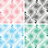 Seamless white abstract pattern. Background in fou Royalty Free Stock Images